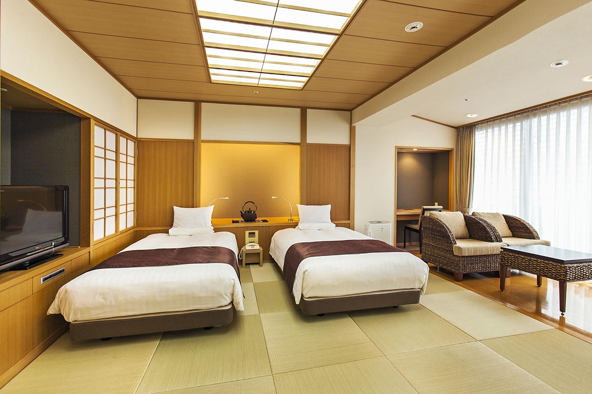 Morioka, accommodation,Metropolitan,Japanese Style Twin